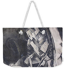 Weekender Tote Bag featuring the drawing Picasso Study by Rosanne Licciardi
