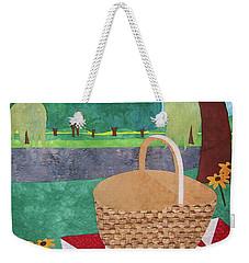 Picnic At Ellis Pond Weekender Tote Bag