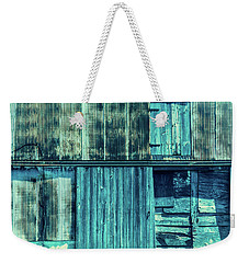 Weekender Tote Bag featuring the photograph Pieces Of The Past by Melissa Lane
