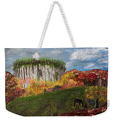 Pilot Mountain Weekender Tote Bag