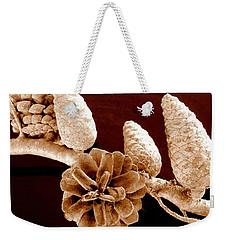 Pine Cones Weekender Tote Bag