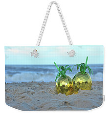 Pineapple Drinks Weekender Tote Bag