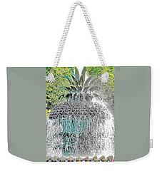 Pineapple Fountain Weekender Tote Bag