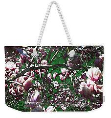 Pink Bush Weekender Tote Bag