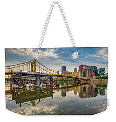 Pittsburgh River Rescue  Weekender Tote Bag
