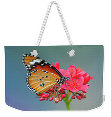 Plain Tiger Or African Monarch Butterfly Dthn0246 Weekender Tote Bag