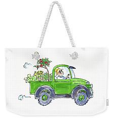 Plant Delivery Weekender Tote Bag