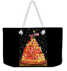 Plymouth Lobster Trap Tree Weekender Tote Bag