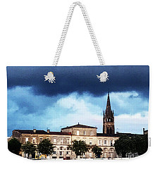 Poking The Storm Weekender Tote Bag