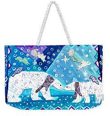 Polar Bears Weekender Tote Bag