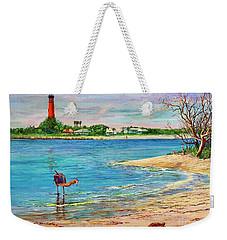 Ponce Inlet Lighthouse Weekender Tote Bag