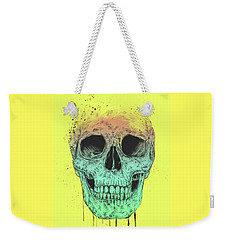 Pop Art Skull Weekender Tote Bag