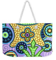 Pop Botanical 2 Weekender Tote Bag