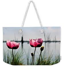 Poppies On Lake Mulwala 2 Weekender Tote Bag