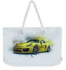 Porsche 911 Weekender Tote Bag