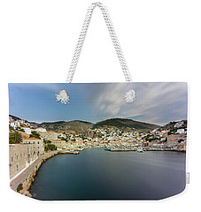 Port At Hydra Island Weekender Tote Bag