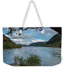 Potomac River At Harper's Ferry Weekender Tote Bag