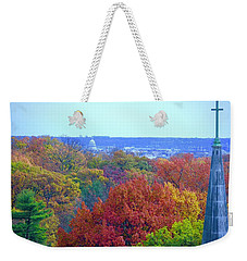 Weekender Tote Bag featuring the photograph Power And Glory by Don Moore