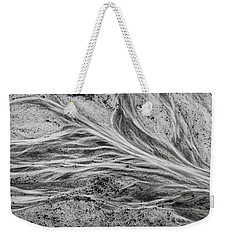 Weekender Tote Bag featuring the photograph Prehistoric Flow by Brad Allen Fine Art