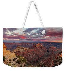 Weekender Tote Bag featuring the photograph Pretty In Pink by Rick Furmanek