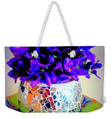 Pretty Purple Petals O T T Weekender Tote Bag