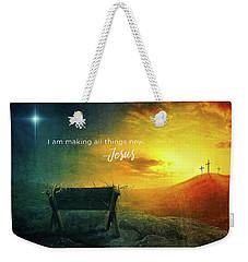 All Things New Weekender Tote Bag