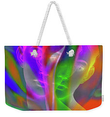 Prism Girl II    Mulit Dimensional Woman Weekender Tote Bag
