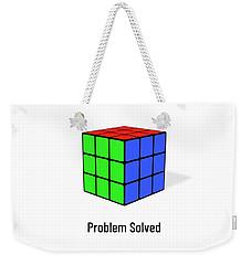 Problem Solved Weekender Tote Bag