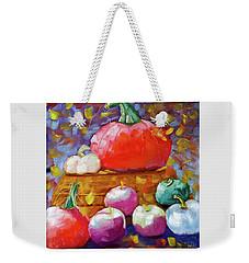 Pumpkins And Apples Weekender Tote Bag