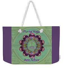 Purna Yoga Ann Arbor Weekender Tote Bag