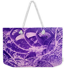 Purple Abstract, Octopus Weekender Tote Bag