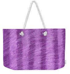 Purple Hazy Nights Weekender Tote Bag