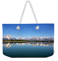 Weekender Tote Bag featuring the photograph Purple Mountains Majesty by Sue Collura
