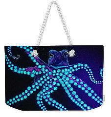 Purple Octopus  Weekender Tote Bag