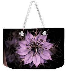Purple Peculiarity Weekender Tote Bag