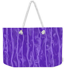 Purple Rain On My Window Weekender Tote Bag