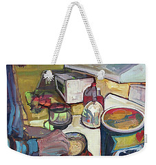 Quaker Morning Weekender Tote Bag
