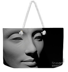 Weekender Tote Bag featuring the photograph Queen Nefertiti by Sue Harper