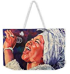 Queen Of Soul Weekender Tote Bag