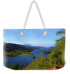 Queens View Painting Weekender Tote Bag