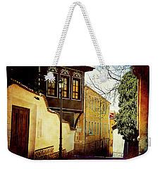 Quiet Street Weekender Tote Bag