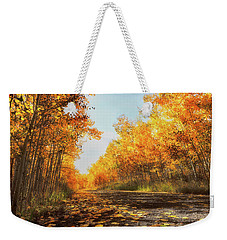 Weekender Tote Bag featuring the photograph Quiet Time by Rick Furmanek