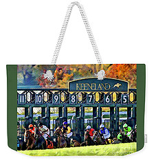Fall Racing At Keeneland  Weekender Tote Bag