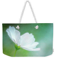Radiant White Cosmos In The Evening Light Weekender Tote Bag