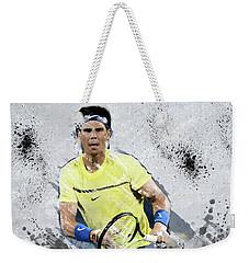 Rafael Nadal Weekender Tote Bag