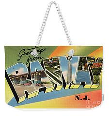 Rahway Greetings Weekender Tote Bag