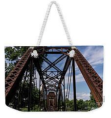 Railroad Bridge 6th Street Augusta Ga 2 Weekender Tote Bag