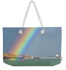 Rainbow At Spring Point Ledge Weekender Tote Bag