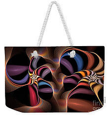 Rainbow Lillies-1 Weekender Tote Bag