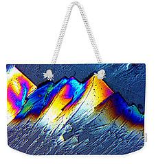 Rainbow Mountains Weekender Tote Bag